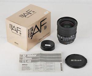 LNIB Nikon AF Nikkor 28mm F 1 4 D Lens Wide Angle Lens D 28 F1 4 JP15095