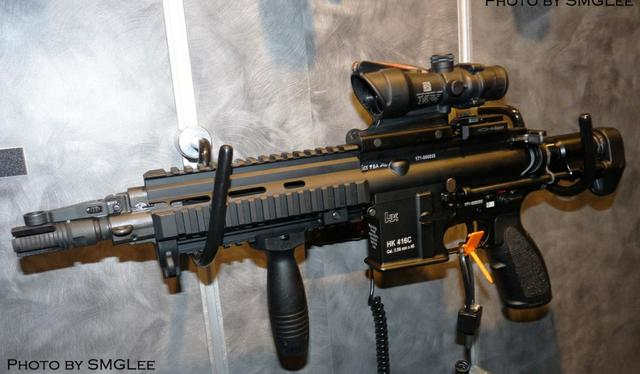 HK416C突击步枪