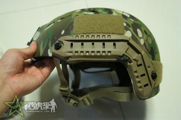 美军FAST基础伞降盔简评附加复刻FAST盔介绍