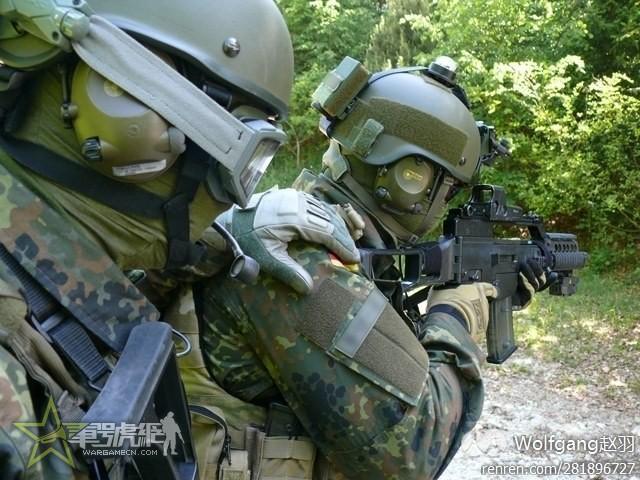 自己DIY德军KSK使用的TBH 2盔