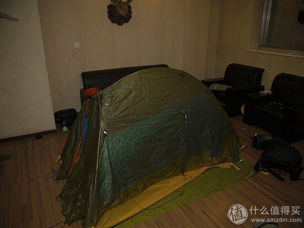 重量只有1.2kg的UL双人帐篷