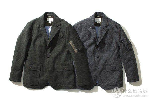 羊毛呢外衬 Filed Jacket