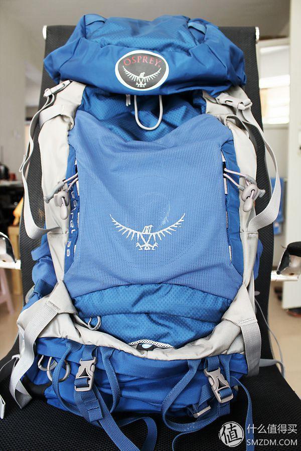 Osprey Kestrel 小鹰 38L 徒步背包