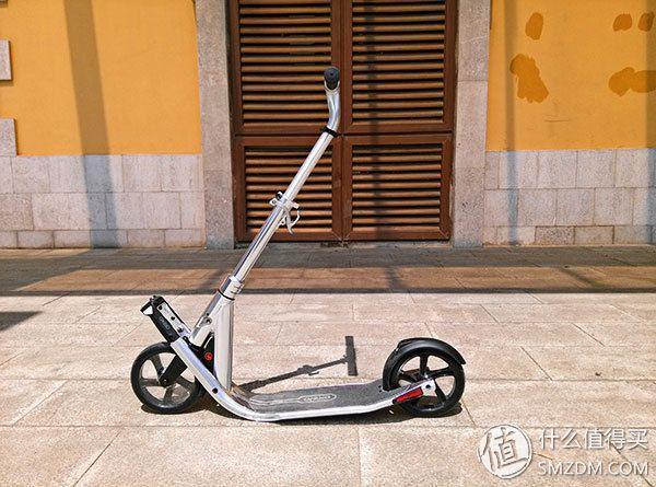 快似一阵风 累成一条狗:迪卡侬 OXELO TOWN7 EF 成人代步 折叠滑板车