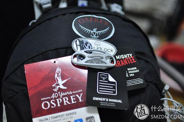 做工细致 设计还算可以:Osprey S14 男式 Talon 魔爪 22 双肩背包