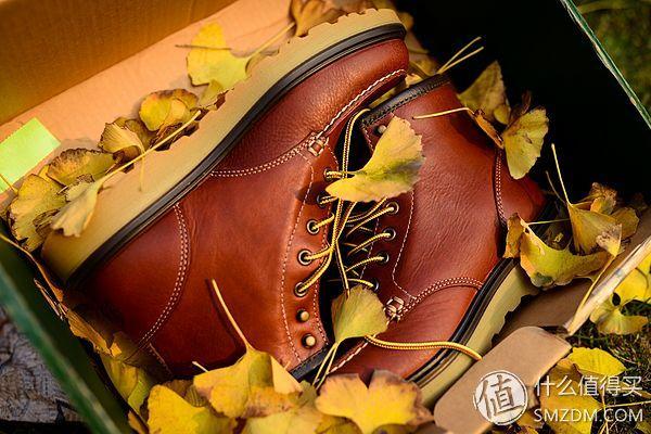 阳光、银杏、皮靴与伪文艺大叔:Danner 丹纳 Lace Moc Toe 男士工装靴晒单