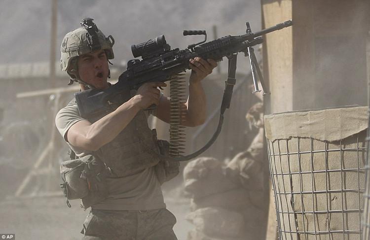 驻阿花旗兵也减负 - D Boy - 枪炮世界 / 装备与生存