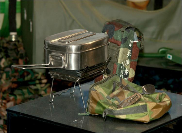 """坑爹的""""单兵便携餐具"""""""