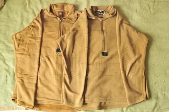 新老交替——陆战队P100抓绒套头衫与CWLS格子抓绒套头衫