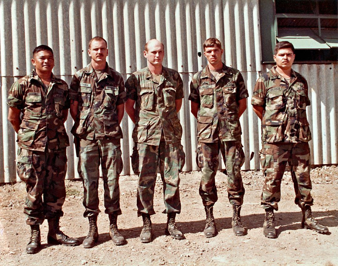 1983年美军入侵格林纳达的紧急暴怒行动造型参考