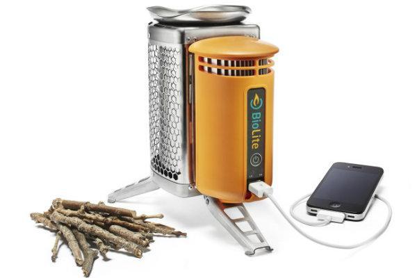 可发电的柴火炉—BioLite CampStove