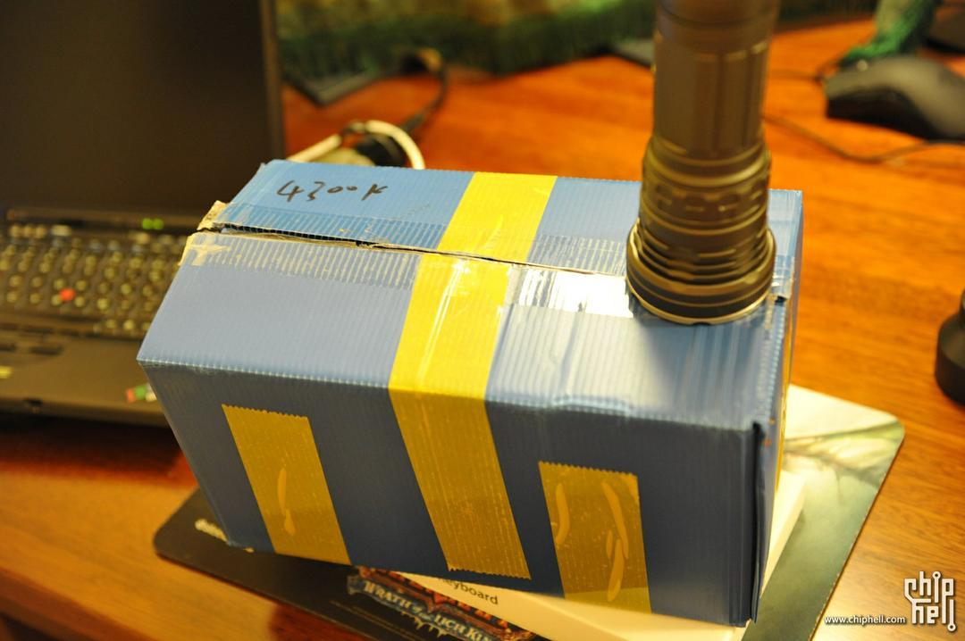 Fire-Foxex 40W HID 手电开箱