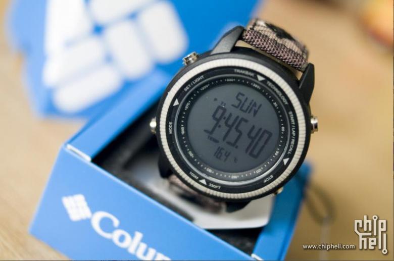 爱上一匹野马~Columbia户外手表CT011开箱体验