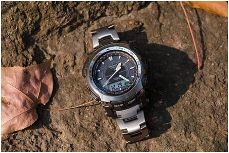 卡西欧PRO TREK 登山表PRW-5100T实地测试