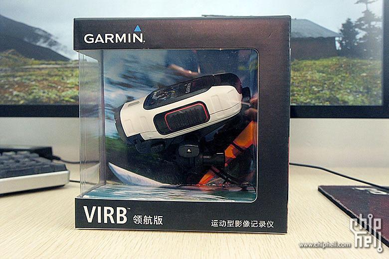 Garmin佳明 VIRB Elite 领航版GPS户外运动摄像机开箱简测
