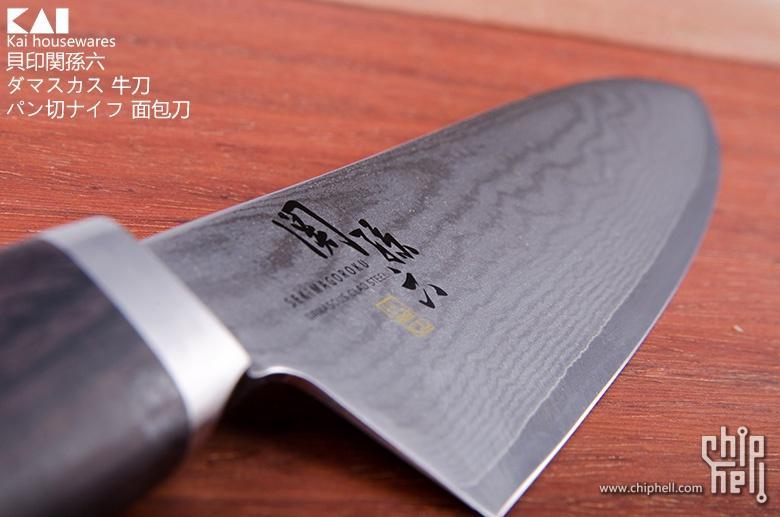 貝印関孫六 ダマスカス 牛刀+ パン切ナイフ 面包刀