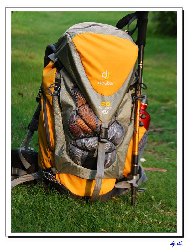 德国 Deuter/多特 34417 ACT Trail 28 SL 户外背包 测评报告