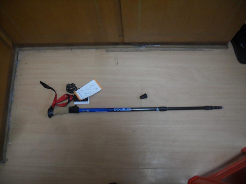 登山杖户外装备测评 MBC M130登山杖测评 分享
