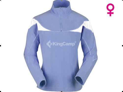 KingCamp KW6444女款1/4拉链弹力抓绒衣评测报告