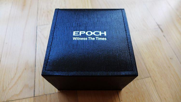 EPOCH氚气自发光男士夜光防水大表盘手表测评报告