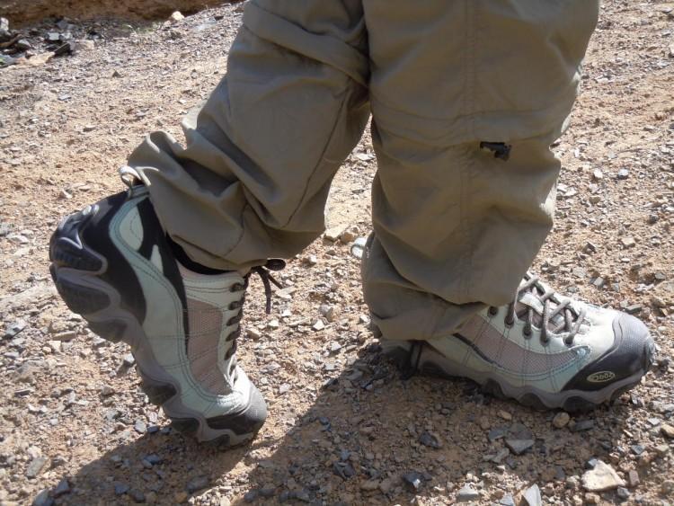 OBOZ Firebrand II 火印 II鞋的测试