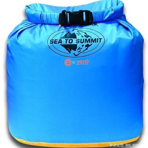 Sea to Summit event布料Evac透气70D防水袋 测评报告