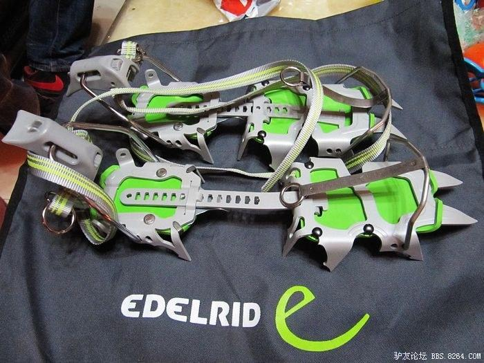 Edelrid/爱德瑞德 SALSA CRAMPON 12齿 全卡式 冰爪
