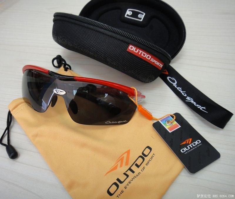 高特/OUTDO 户外防撞骑行登山运动太阳眼镜 TR373 测评