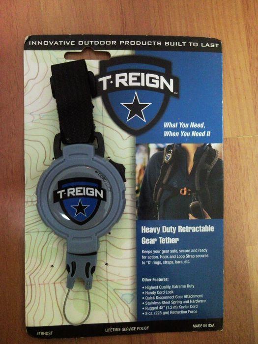 T-REIGN 带锁定数码安全链 魔术贴钥匙扣 测评报告