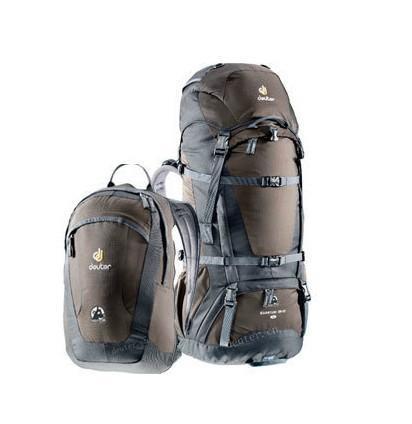 DEUTER多特 子母背包套装70+10+18L 徒步登山包测评