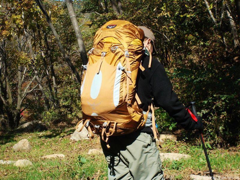 美国 Osprey 小鹰 Atmos气流 65L 户外穿越徒步背包 测评