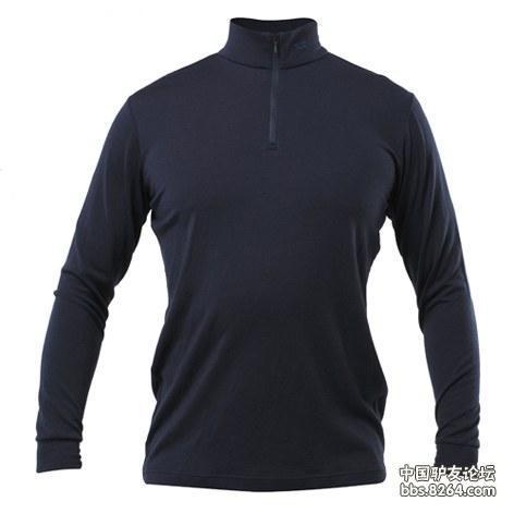 KROCEUS(KR)男式羊毛长袖半襟衫体验