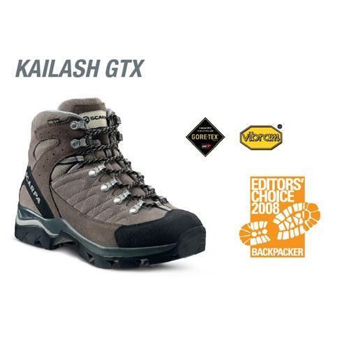 SCARPA/斯卡帕 高帮防水徒步登山鞋 KAILASH GTX 67045G 测评报告