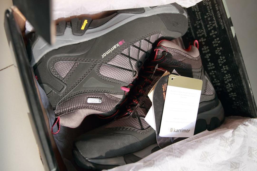 KARRIMOR 凯瑞摩K279BCL登山鞋评测