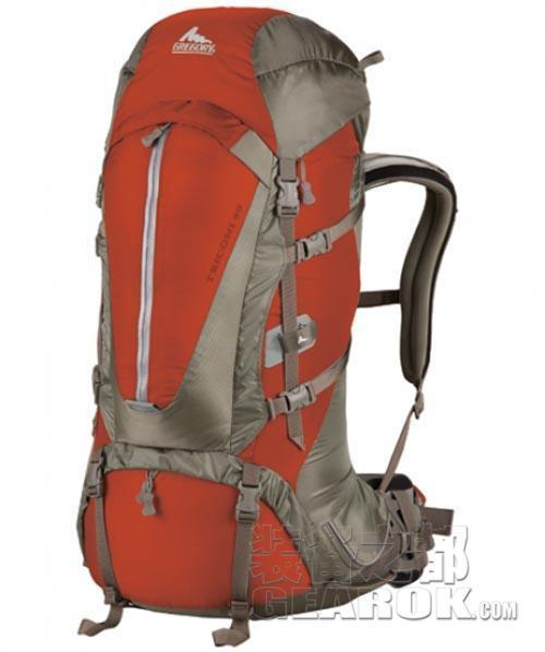 GREGORY/格里高利 2011款Triconi 60L 登山包徒步包 测评报告