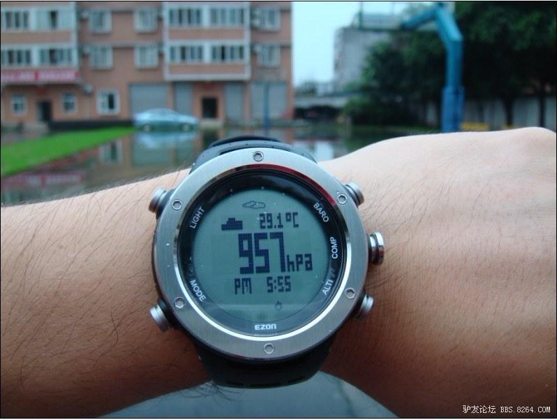 EZON宜准 登山运动腕表H001B11 男士运动手表 测评报告