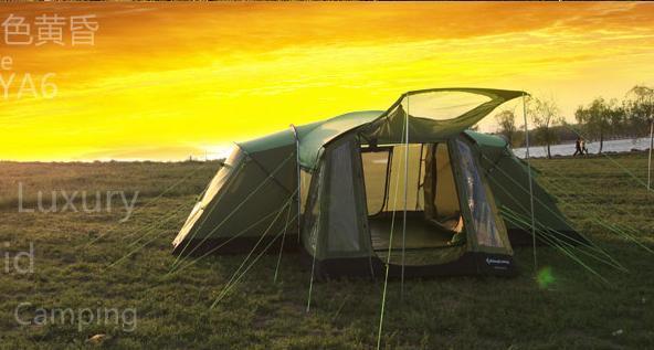 KingCamp大型帐篷WAKAYA奢华帐篷评测搭建视频讲解