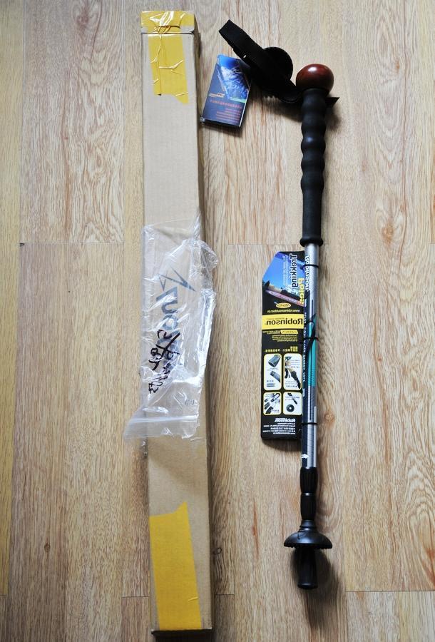 鲁滨逊Robinson-PG3户外碳素超轻登山杖评测报告