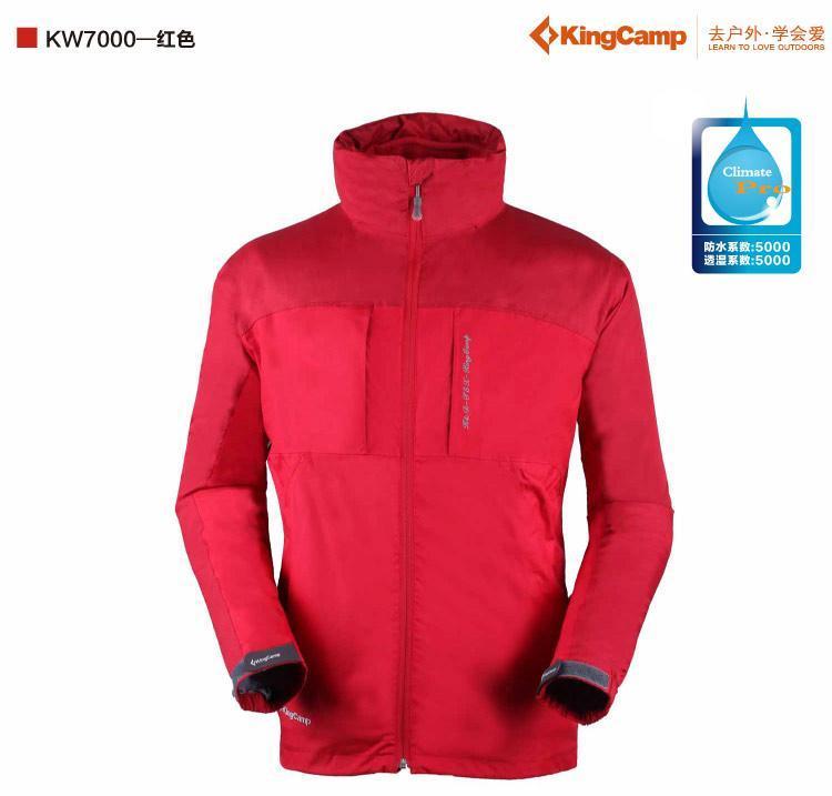 KingCamp/康尔健野 kw7000两件套冲锋衣 游荡在四姑娘山 测试报告