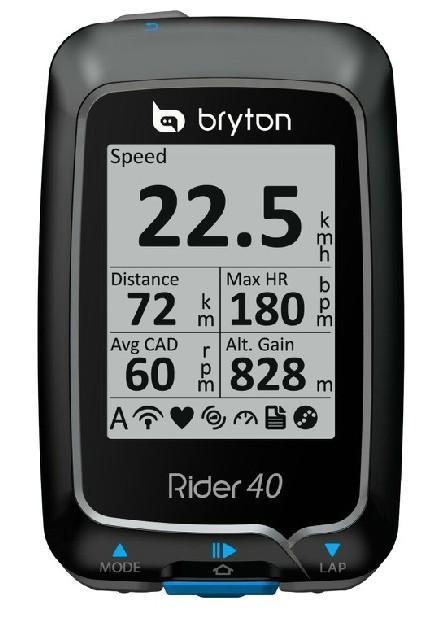 Bryton/百锐腾 Rider40 GPS 骑行码表 测评报告