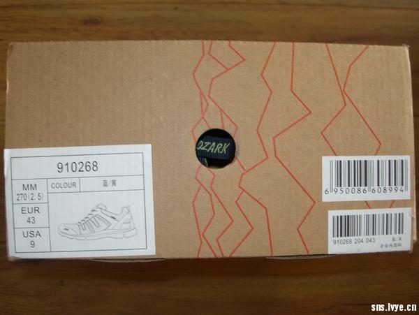 奥索卡 男女款 户外休闲徒步鞋 G-910268-204 测评报告