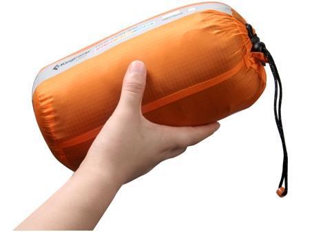 KingCamp/康尔健野 冬季灰 鸭绒超轻户外羽绒睡袋 户外装备测评报告