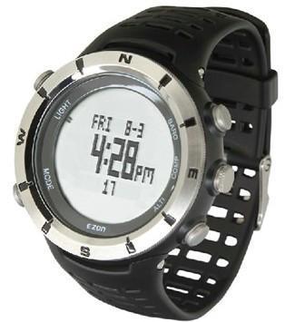 EZON/宜准 男士多功能户外手表指南针 H001C11户外装备 测评报告