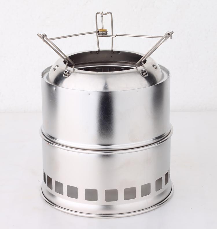 柴火炉 野炊炉 烧烤炉 户外炉具 实际评测报告