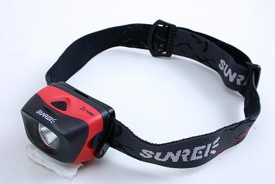 山瑞 SUNREE D100 头灯 体验评测报告