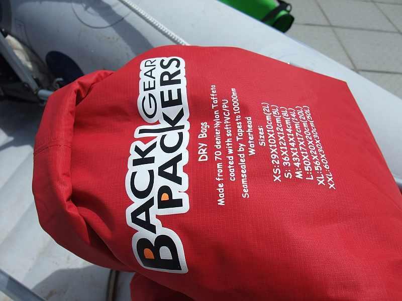 【装备测评报告】:Backpackers Gear 多功能防水袋