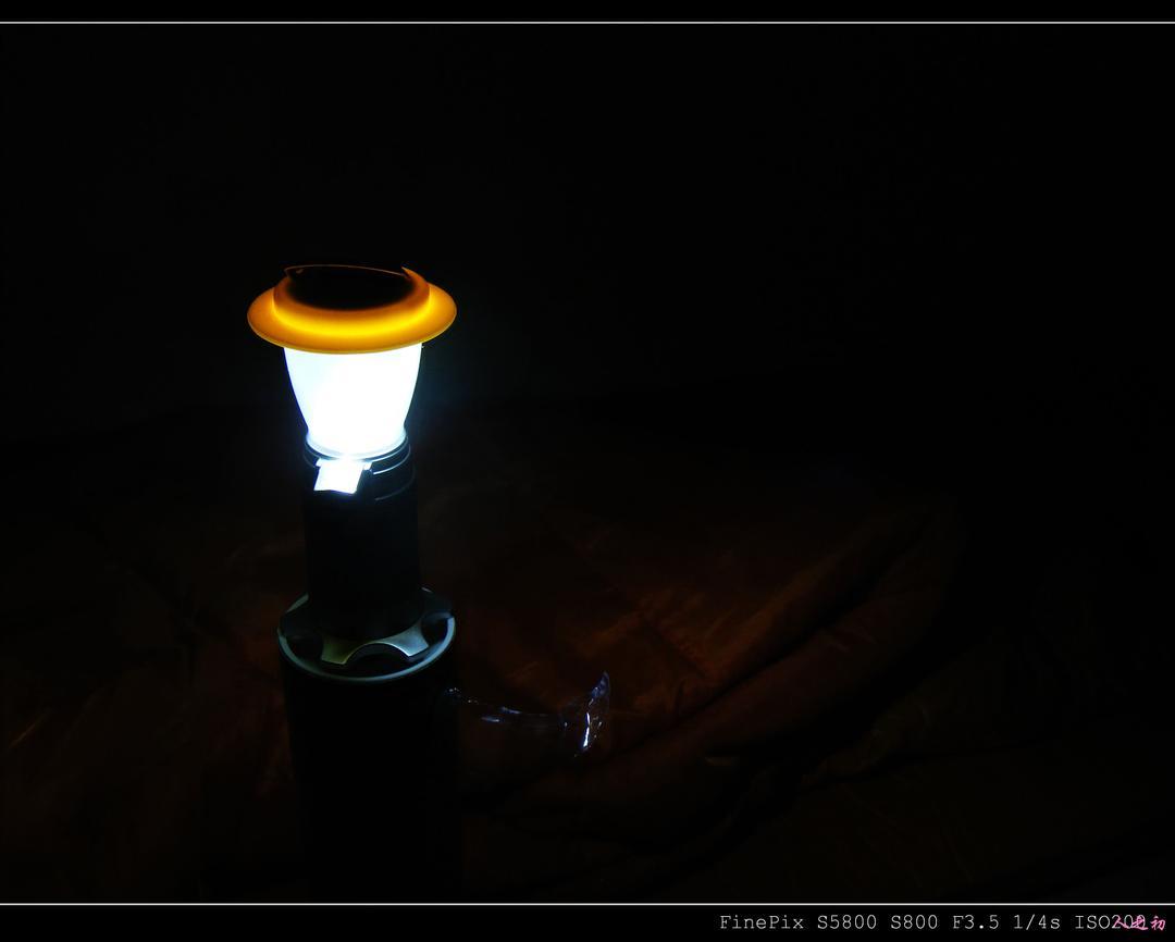 迟来的SUNREE Polestar 营灯 评测报告