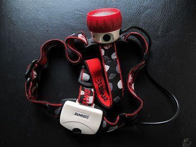 夜行利器–百公里装备测评:山瑞 SUNREE E70头灯