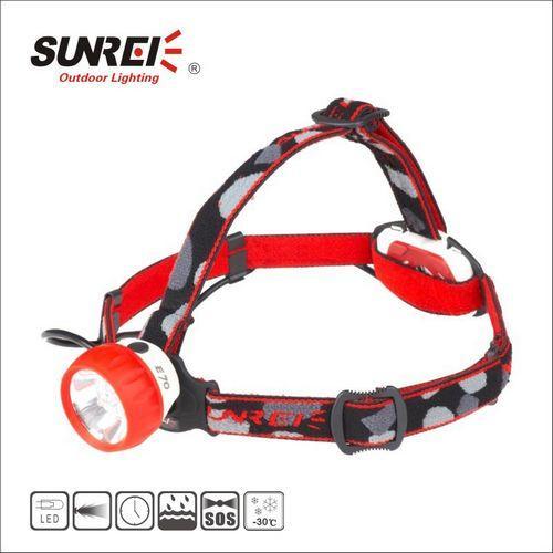 艳丽的鸡肋头灯–SUNREE山瑞E70评测(连州黑暗洞穴40小时高亮测评)