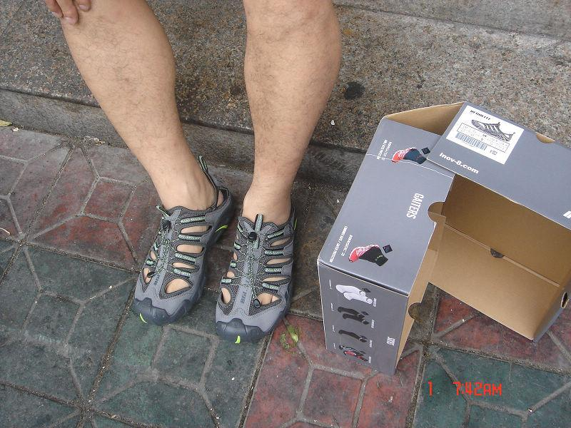 INOV-8 Recolite190水陆两栖鞋 装备测评报告